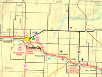 Finney county kansas bicycle guide for Directions to garden city kansas
