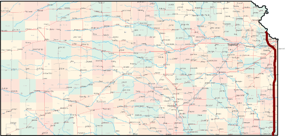 Frontier Military Historic Byway Bicycle Route Map