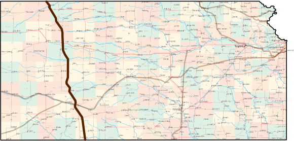 Bikes Routes In Western U.s. Kansas Great Western Cattle