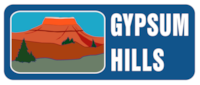 Gypsum Hills Scenic Byway Sign