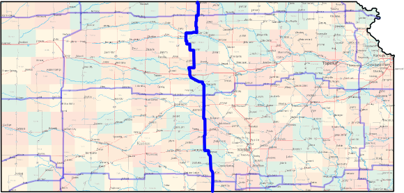 Kansas Cross-State Bicycle Route - North-South Central Route