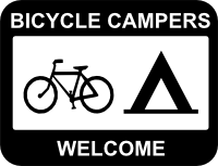 Bicycle Campers Welcome