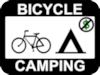 free bicycle camping