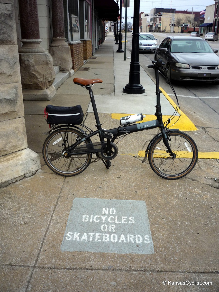 Kansas Sidewalk Bicycling Laws