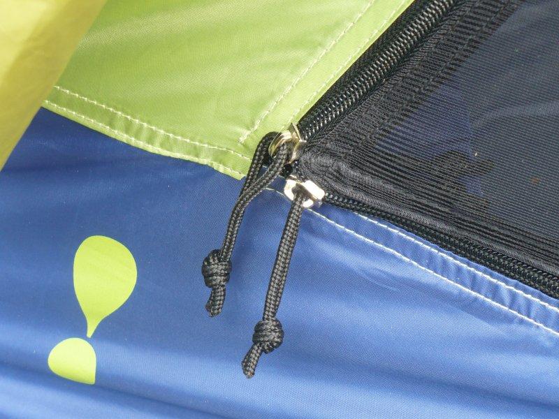 how to fix a zipper on a tent door