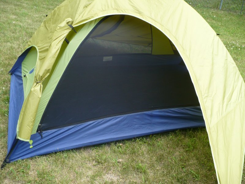 Eureka Pinnacle Pass 2XTA Fly Door Tied Back & Eureka Pinnacle Pass 2XTA Tent Review