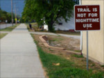 Tonganoxie: Trail Is Not For Nighttime Use