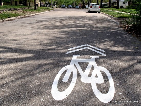 Topeka Sharrows