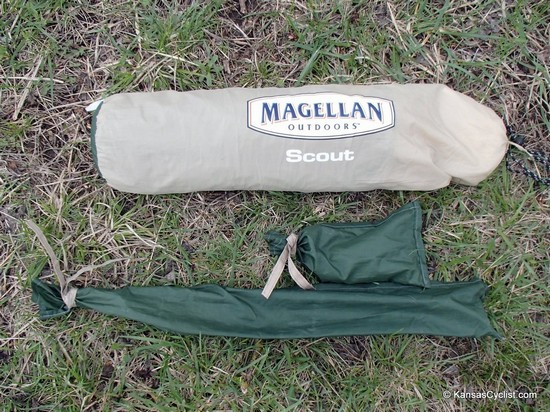 Magellan Scout Technical Tent - Packed
