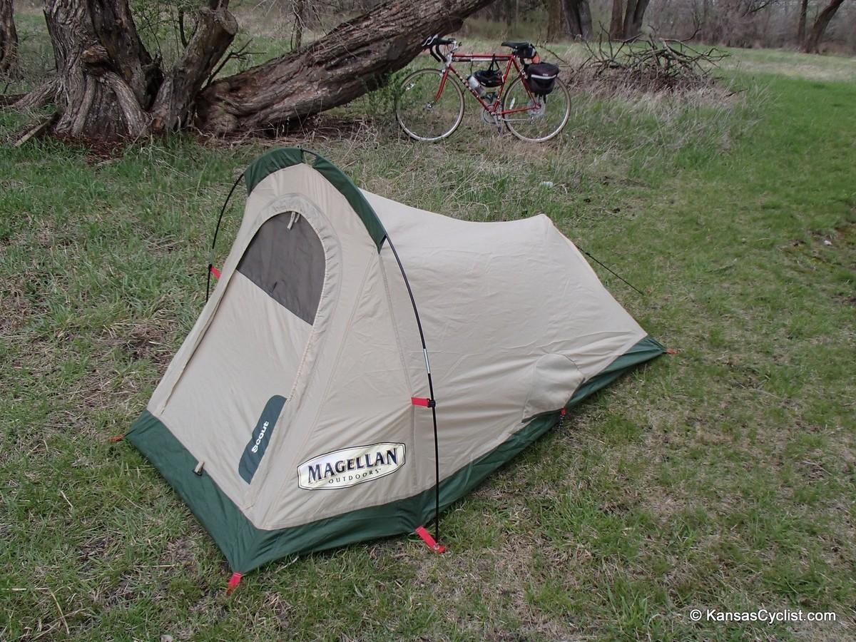 Magellan Scout Technical Tent - Assembled & Magellan Scout Technical Tent Review