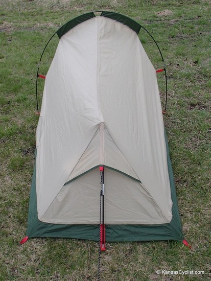 Magellan Scout Technical Tent - Rear View