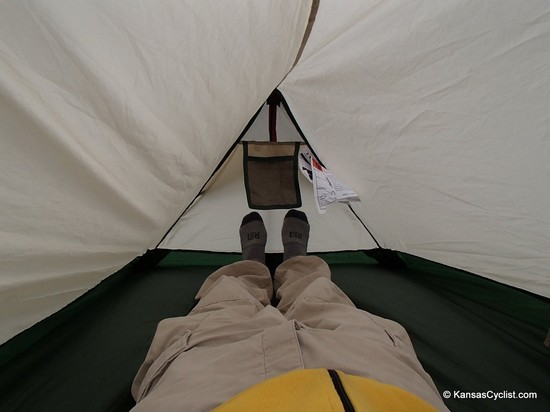 Magellan Scout Technical Tent - Interior Space