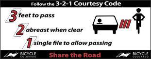 3-2-1 Courtesy Code