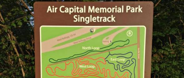 Air Capital Memorial Park Singletrack Grand Opening