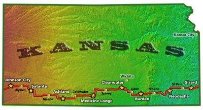 BAK 2006 Route Map