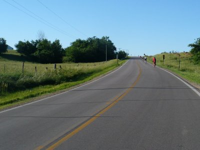 Riding the Hills to Atchison