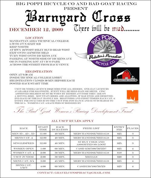 Barnyard Cross 2009