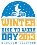 Boulder Winter Bike to Work Day 2013