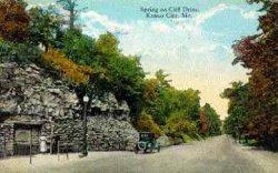 Cliff Drive Postcard