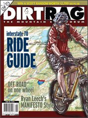 KC Trails Highlighted in DirtRag