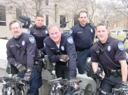 Emporia Bike Patrol Officers