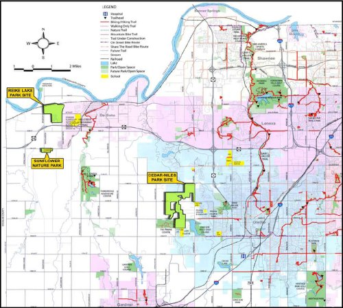 Trails Planned for Western Johnson County