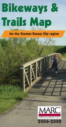 KC Area Bikeways and Trails Map