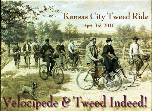 1st Annual Kansas City Tweed Ride April 3rd