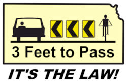 3-Foot Passing: It's The Law in Kansas!