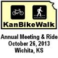 KanBikeWalk Annual Meeting and Ride October 26th in Wichita