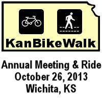KanBikeWalk Annual Meeting and Ride 2013