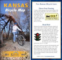 2012-2013 Kansas Bicycle Map