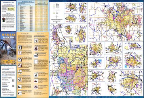 2012-2013 Kansas Bicycle Map, Page 2
