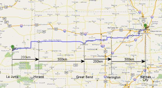 Kansas Brevet Tour 2010