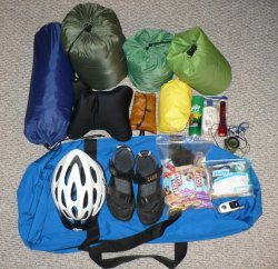 Katy Trail 2007 Packing List