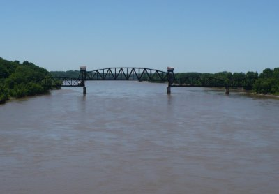 Old Katy Bridge at Boonville