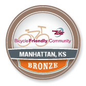 Manhattan, Kansas Bicycle Friendly Community Bronze