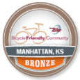 Manhattan, the Newest Bicycle Friendly Community in Kansas!