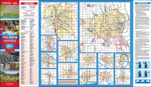 2012 Nebraska Bicycle Map, Page 2