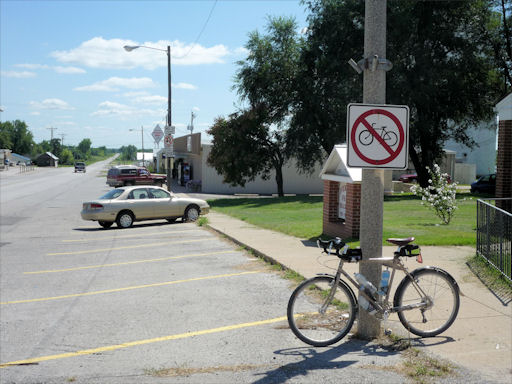 No Bicycles Allowed In Overbrook?