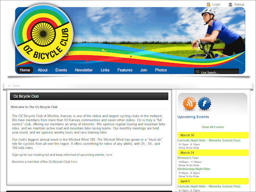Oz Bicycle Club Launches New Web Site