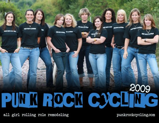 Punk Rock Cycling 2009 Roster