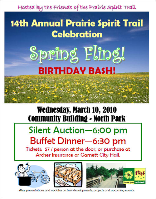 Prairie Spirit Trail Birthday Bash