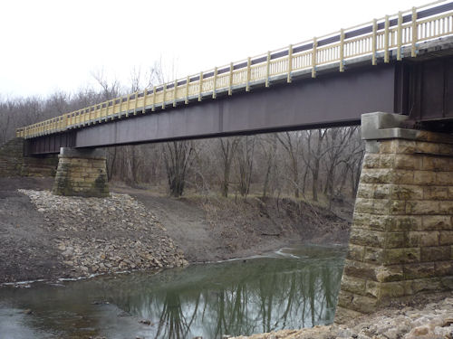 Prairie Spirit Trail Bridge Reopens