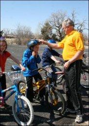 Teaching Bike Safety in Pratt
