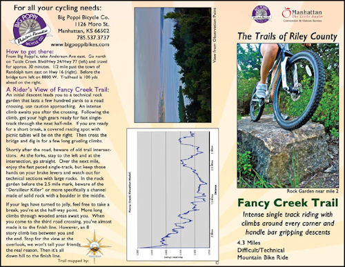Fancy Creek Trail Brochure
