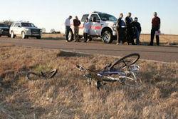 Stafford, Kansas Cyclist Killed