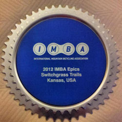 Switchgrass Mountain Bike Trail Epic Award