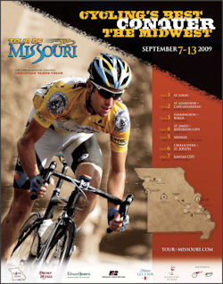 2009 Tour of Missouri Poster