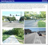 Topeka Bikeway Master Plan Survey